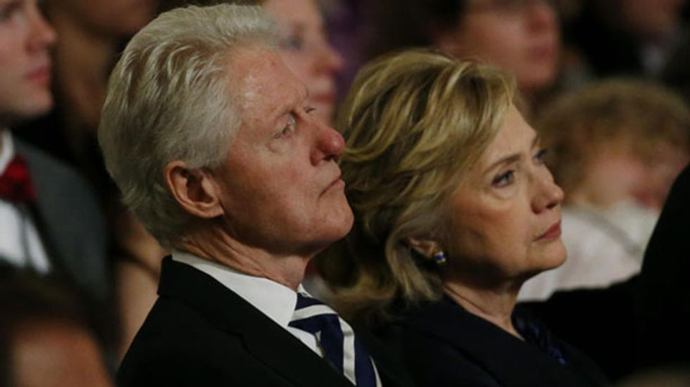Bill Clinton says nothing 'sinister' in foreign donations to foundation