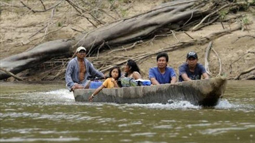 Deforestation in Brazil's Amazon surges 450 percent