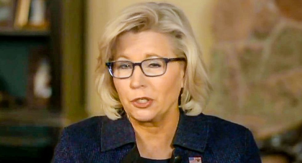 'What her daddy did is a war crime': Retired colonel blasts Liz Cheney for her 'could be treason' comments