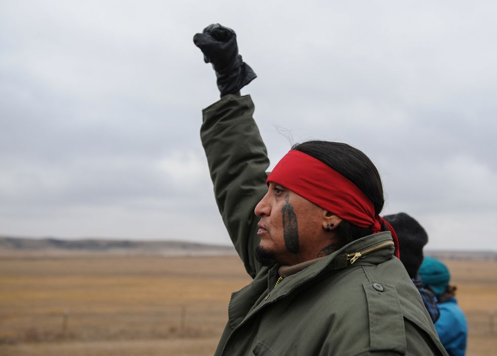 Standing Rock protesters celebrate as Army Corps of Engineers halts DAPL project