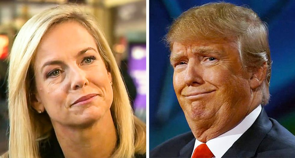 'She should be in f*cking prison': Internet unleashes on Kirstjen Nielsen as Trump shows her the door