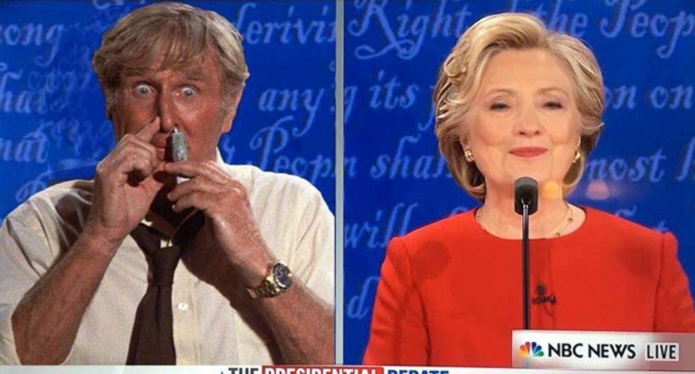 #TrumpTrainWreck: The Internet mercilessly slams 'sniffling' Trump's bullying meltdown during debate