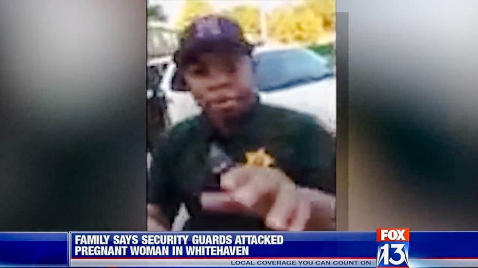 Tennessee security guard pepper-sprays and body slams pregnant woman while her apartment burns