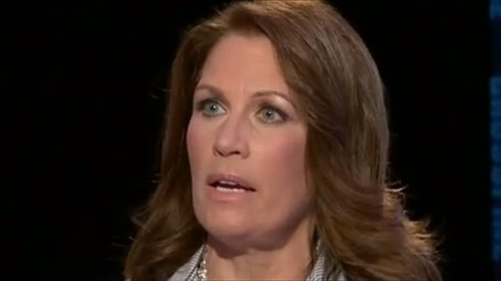 Michele Bachmann: Obama is supporting 'Islamic jihad' and laughed at me at a holiday party