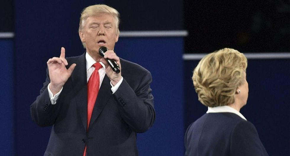 'That debate won me the election': Trump credits 'you'd be in jail' moment for overcoming Access Hollywood debacle