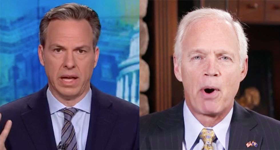 CNN's Tapper uses Manafort to slap down GOP senator's wild ranting about Democrats colluding with Russians