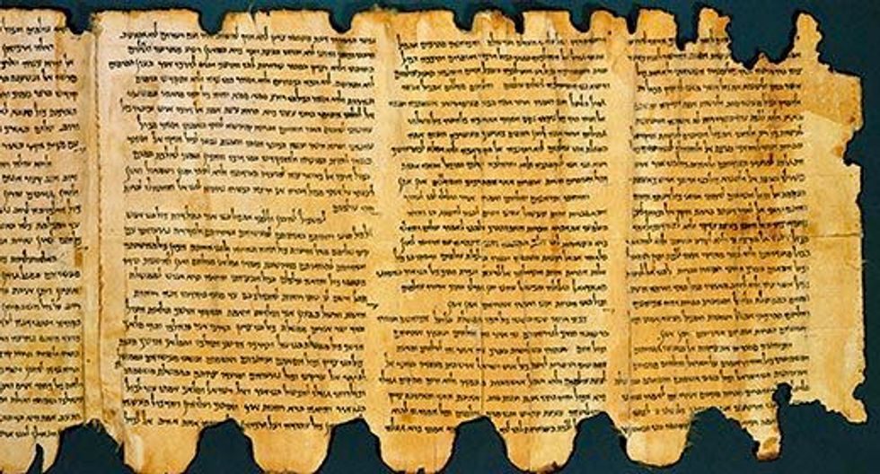 US Bible museum says five Dead Sea Scrolls fragments fake