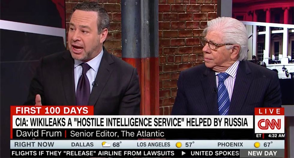CNN contributor: Trump White House staff 'terrified' because they don't know how deep Russia ties go