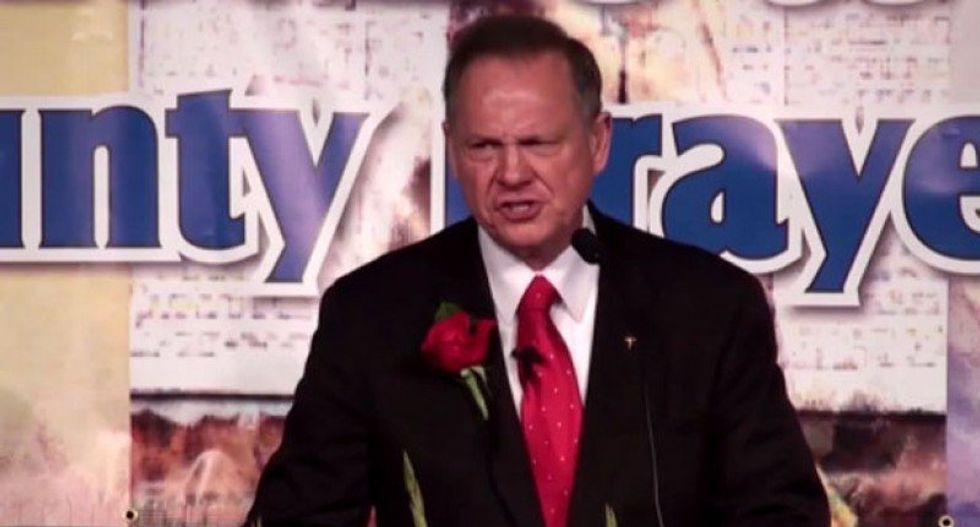 Alabama media company to Roy Moore: Go ahead, sue us -- we'd love to air your dirty laundry in court