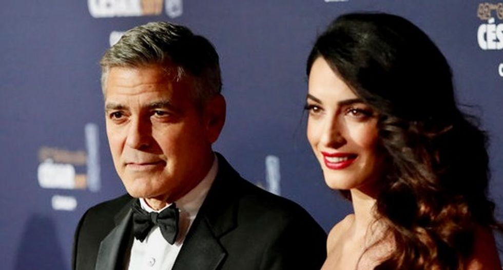 George and Amal Clooney give $1 million to combat U.S. hate groups