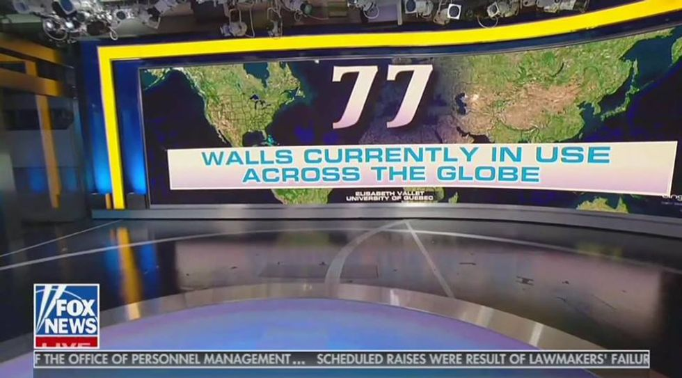Trump quotes Fox & Friends stats about walls to justify ongoing shutdown: 'Close to 100% successful!'