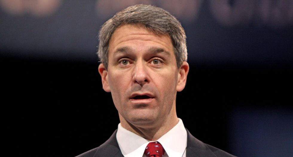 'CNN needs to stop enabling': Network ripped for having once paid Ken Cuccinelli for racist talking points