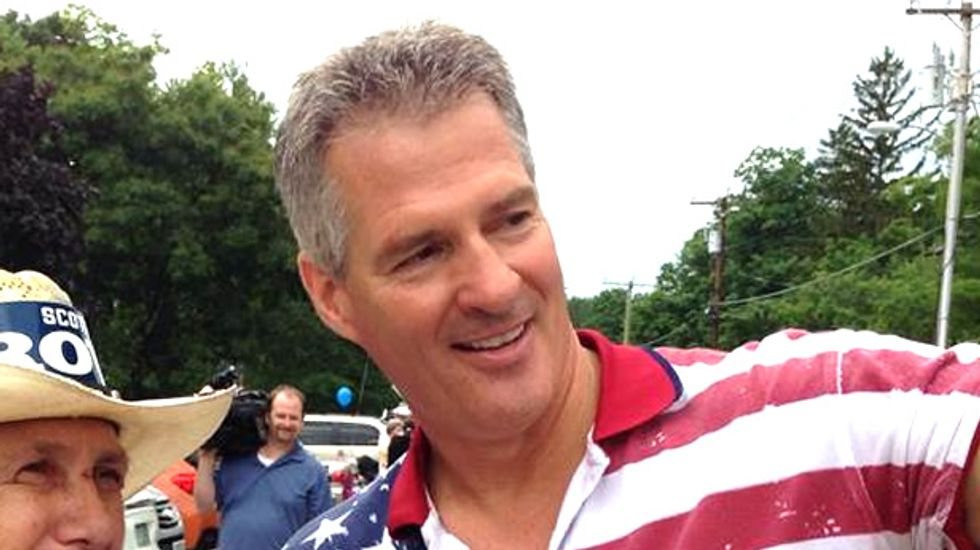 Scott Brown poised to become first Senate candidate ever to lose twice to women
