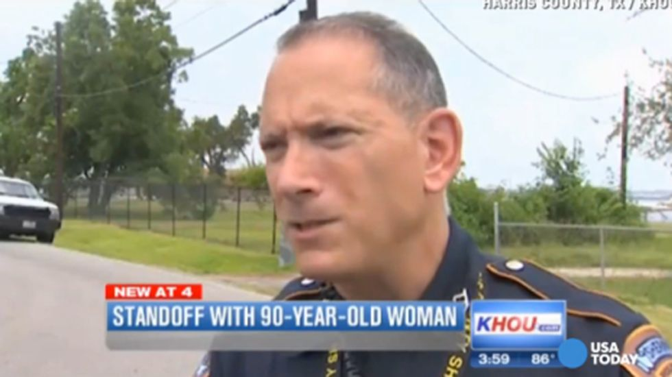 Armed 90-year-old TX woman arrested after SWAT stand-off: 'She's hard to get along with'