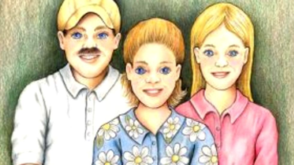 'My Parents Open Carry' kid's book portrays day in the life of 'typical' gun nut family