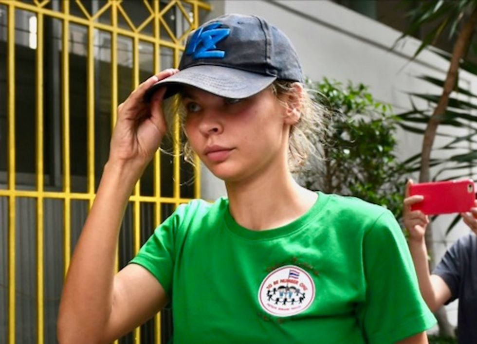 Belarusian model claiming Trump secrets deported from Thailand