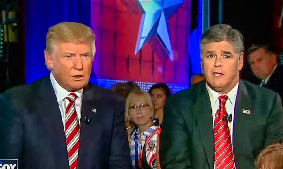 Fox News host Sean Hannity thinks Donald Trump should 'pardon his whole family and himself' on the way out
