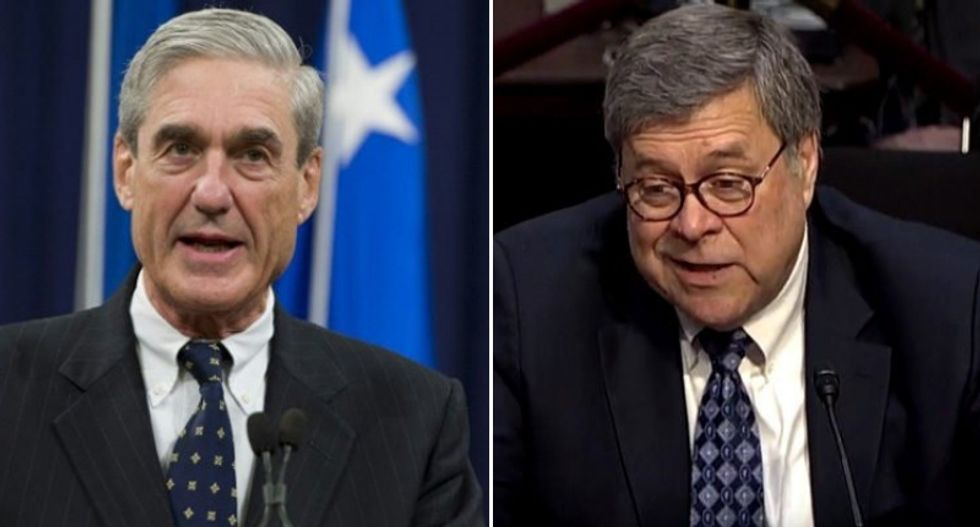 'Everything is over' for Bill Barr if he's busted for covering up Mueller obstruction findings: ex-prosecutor