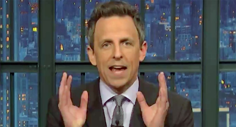 Watch: Seth Meyers has 12 hilarious questions for former Trump-fixer Michael Cohen