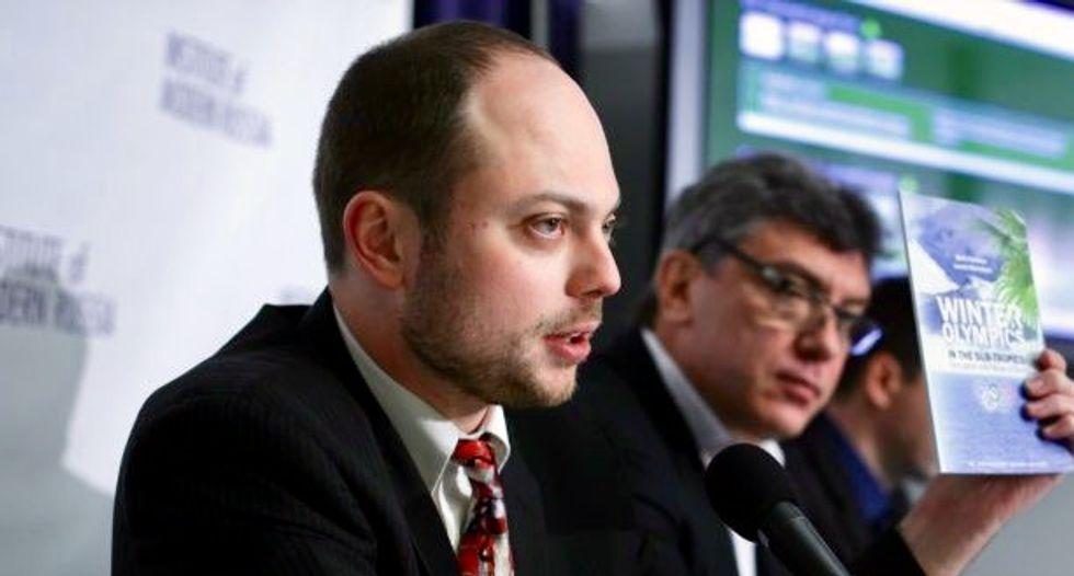 Putin critic Kara-Murza suffered 'acute poisoning'