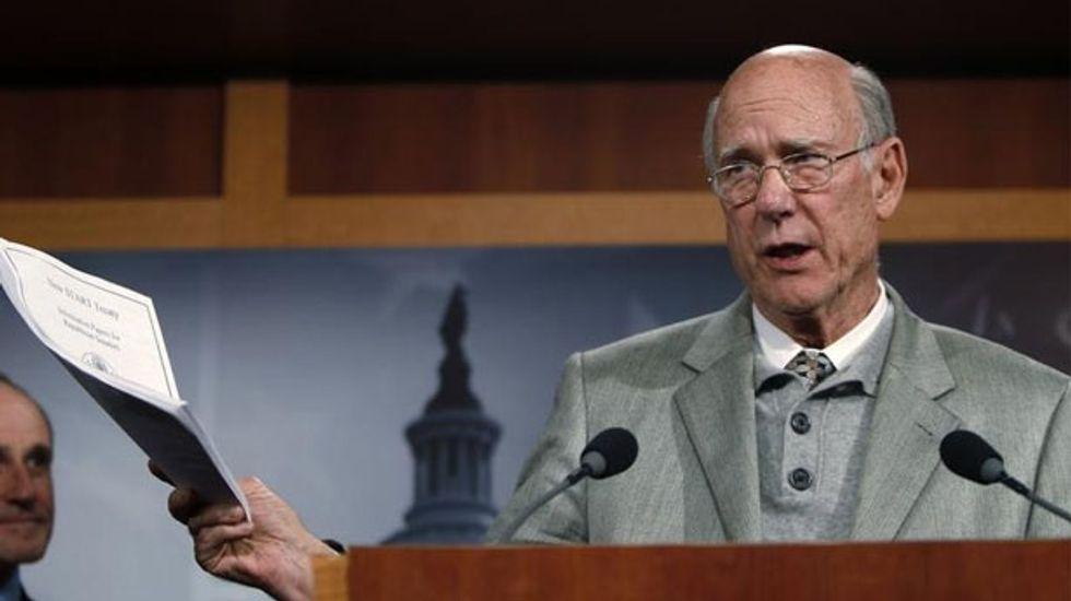 GOP Senator Pat Roberts defeats Obama's Tea Party cousin in Kansas