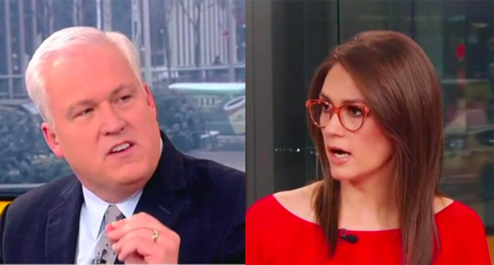 Fox panel spirals into chaos as Trump supporter repeatedly denies president has done anything wrong
