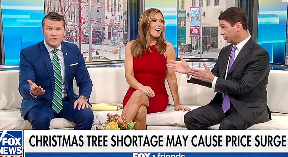 Two days after Thanksgiving Fox slams war on Christmas trees: 'You can't put a price tag on Christmas'