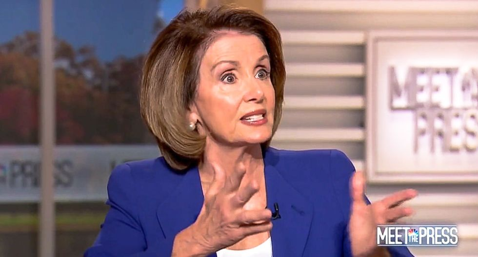 Nancy Pelosi refuses to let Chuck Todd end interview after he railroads her with sexual misconduct questions