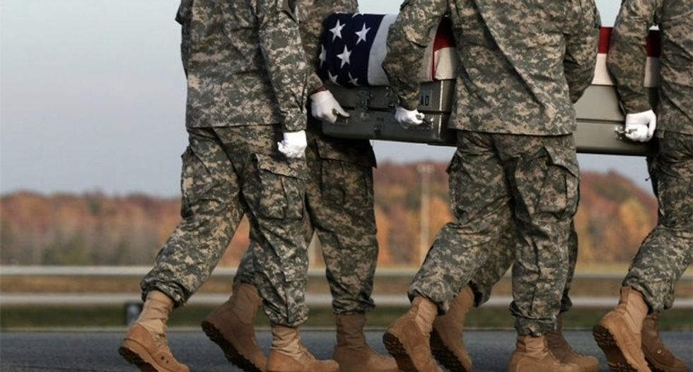 US Army Twitter account question highlights toll of America's wars on Memorial Day