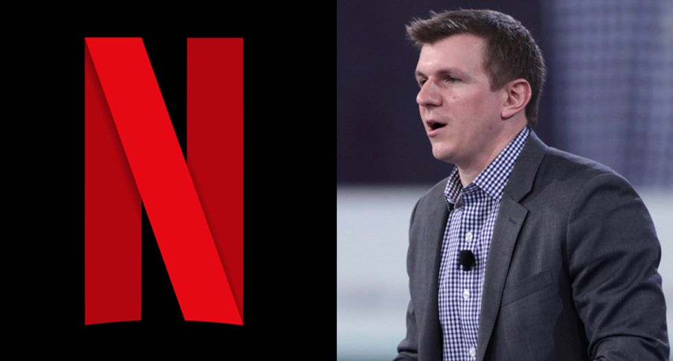Netflix just trolled James O'Keefe and Project Veritas in the best possible way