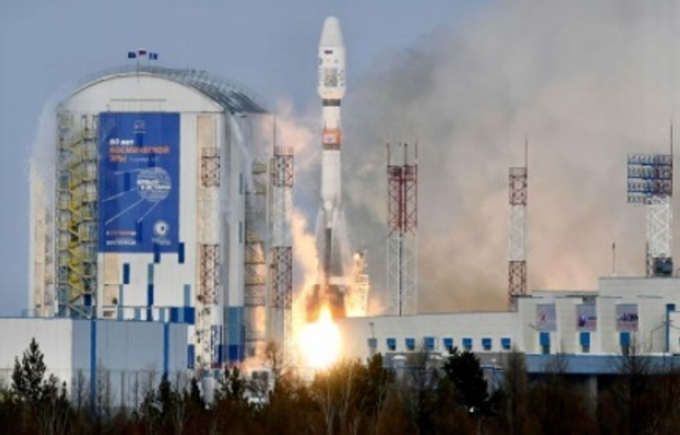 Russia loses contact with satellite after launch from new spaceport
