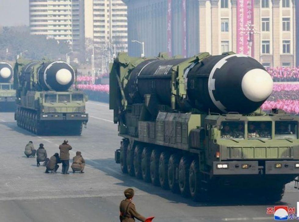 North Korea protecting nuclear missiles ahead of summit talks: UN monitors say