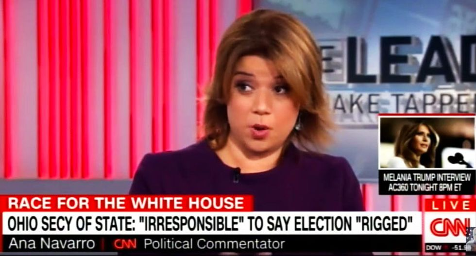 Ana Navarro rips Trump's 'rigged' whine: 'It's rigged when a billionaire pays no taxes and gets away with it'