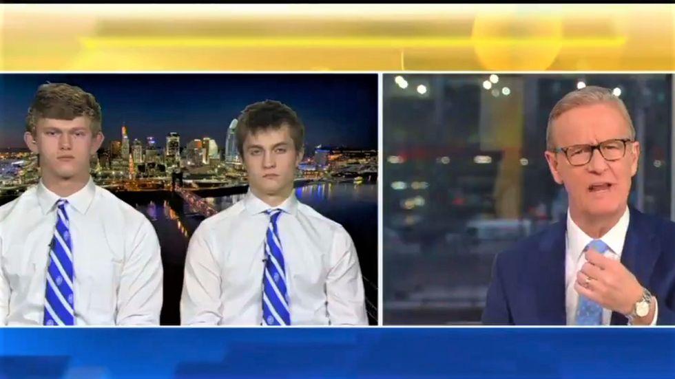 Covington Catholic kids defend wearing blackface on Fox News: 'It's just showing school spirit'