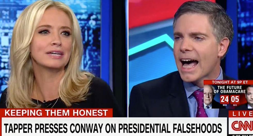 Watch: Kayleigh McEnany gets into shouting match with CNN conservative after he calls Conway 'laughable'