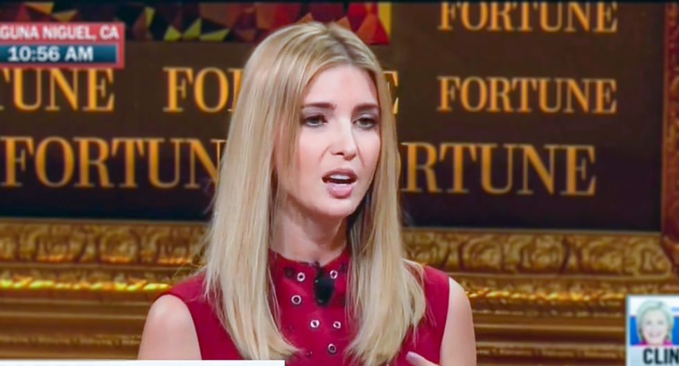 Ivanka Trump makes bizarre claim that being dumped by Nordstrom protects her 'integrity'