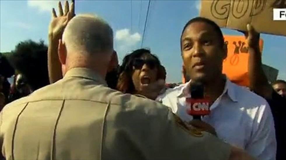 CNN's Don Lemon pushed around by St. Louis cops: 'Now you see why people are so upset'
