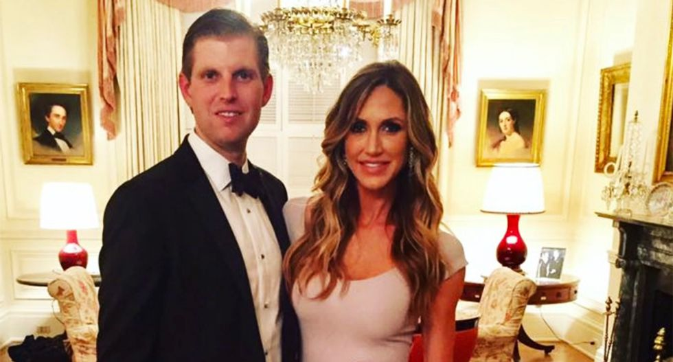 Eric Trump whines about prosecutorial misconduct after facing fraud lawsuit from NY attorney general