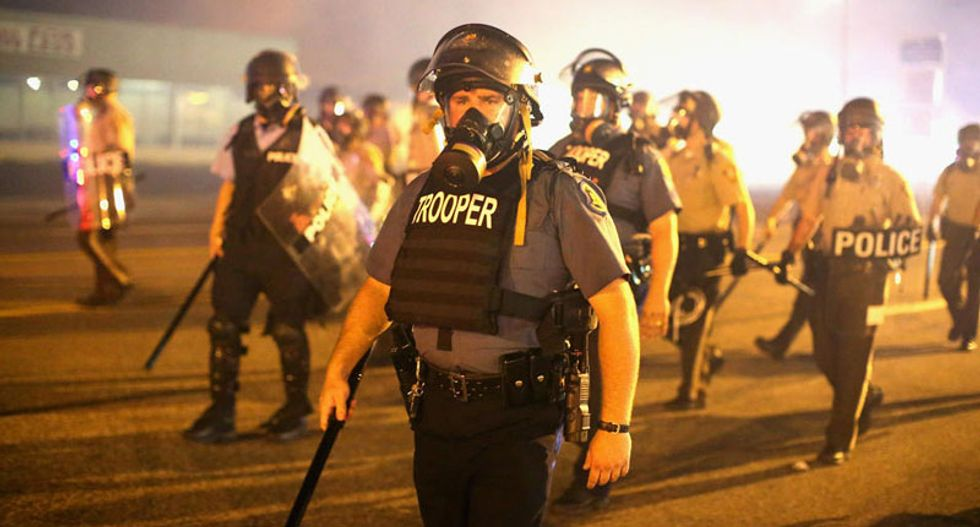 'Rogue' Ferguson cops used illegal and excessive force on protesters: lawsuit
