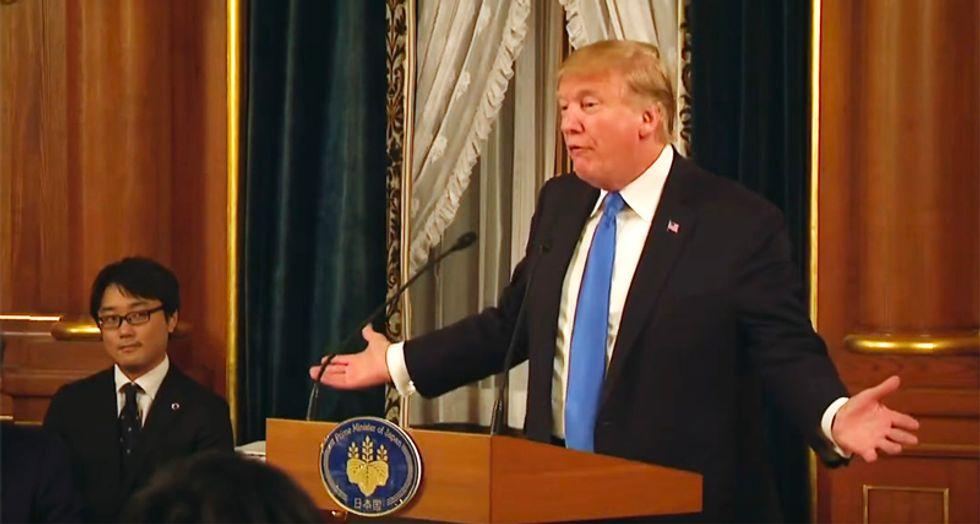 WATCH: Trump calls Pearl Harbor a 'pretty wild scene' during rambling tribute to vets