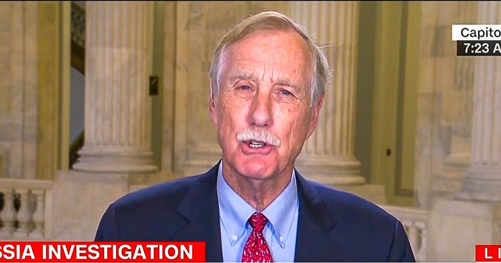 Sen. Angus King: Impeachment is an 'intermediate step' before Trump goes to prison for obstruction