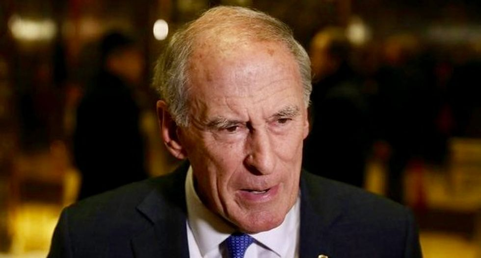 Senate committee approves Trump intelligence nominee Coats