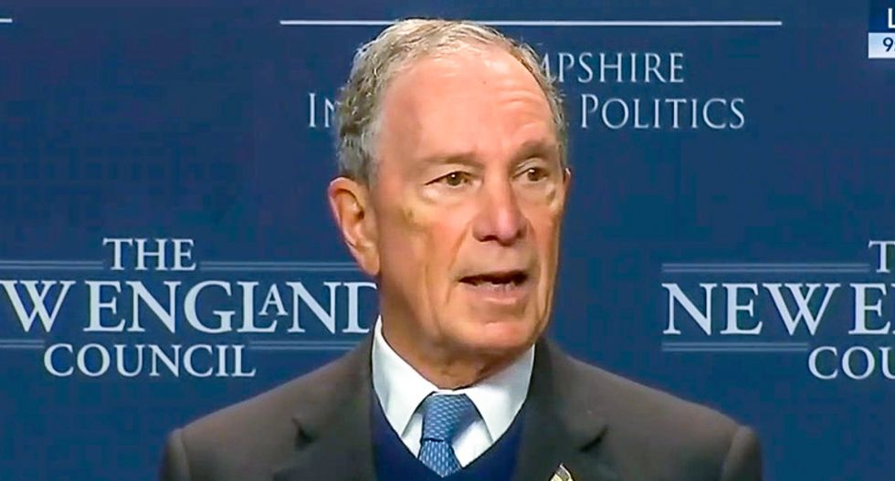 Billionaire ex-New York mayor Bloomberg still dreams of becoming president and yearns to stop Warren -- what could go wrong?