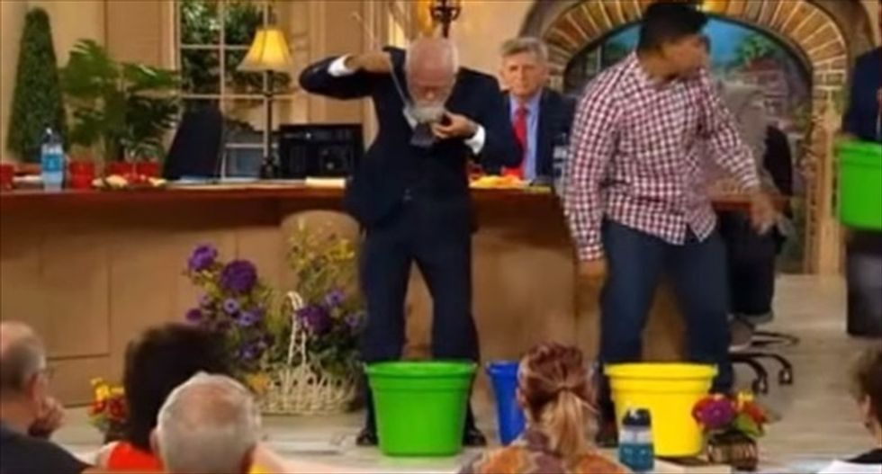 Doomsday prepper Jim Bakker swears you'll love his $160 potato soup bucket