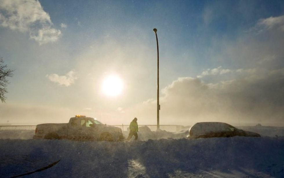 Polar vortex `just sort of evaporates' and US Midwest warms up