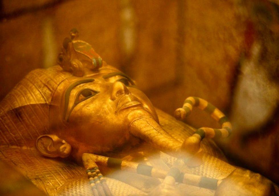 Conservationists unveil work on Tutankhamun's tomb