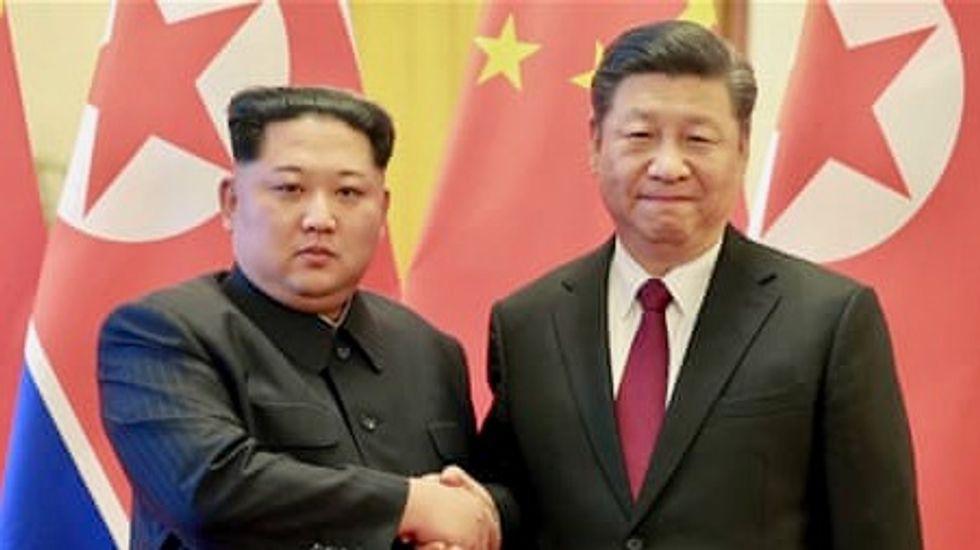 North Korean leader Kim visits China, meets President Xi