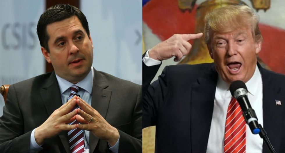 Trump sided with DOJ to protect identity of source providing info to Mueller from Nunes' document request