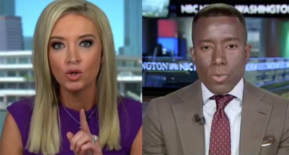 Watch Kayleigh McEnany furiously whitesplain to a black Republican that the GOP ended slavery