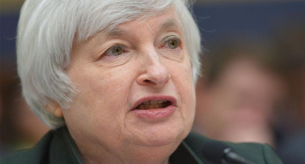 Trump says he'd replace Federal Reserve chief Janet Yellen if he wins US presidency